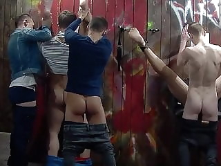 Gay Sex Club - Gloryhole (Short) blowjob (gay) glory hole (gay) group sex (gay)