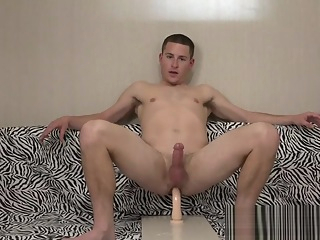 20yo str8t Hunk Learns to Love Dildos 34:02 2020-05-25