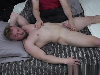Aron - Muscle worship fetish gay handjob